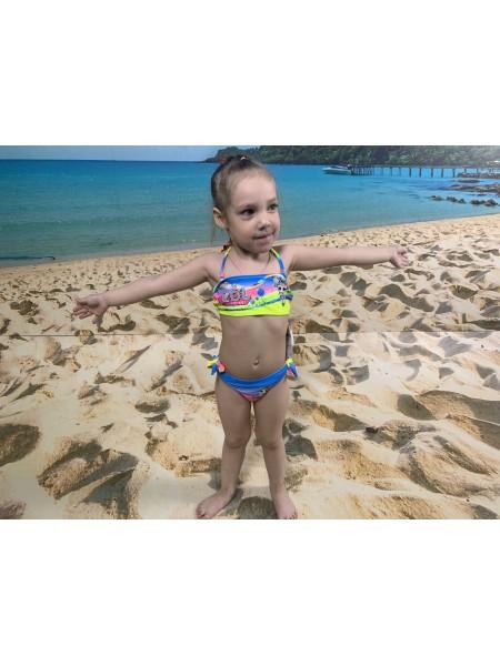 Детский купальник LOL раздельный